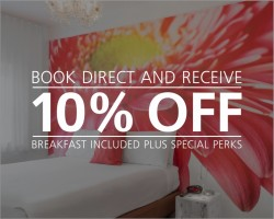 Book Now & Receive 10% OFF